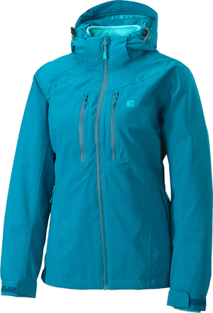 Outdoorjacke 2 in 1 damen