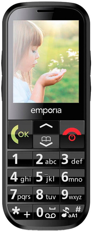 Eco C160 Mobiltelefon schwarz