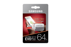 micro-SDXC Card Evo Plus 64GB