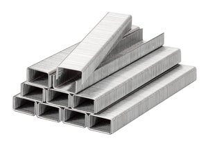 Klammern, Feindraht, Stahl, 11,4 mm x 12 mm