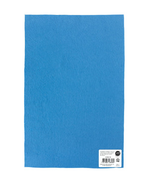 Feltro di qualità, azzurro, 20x30cm x 1mm