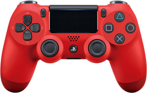 PS4 Wireless DualShock Controller v2 rosso