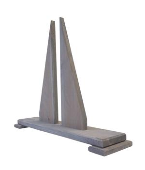 Ständer zu Haselnuss Sichtschutzwand