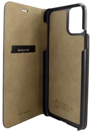 Book-Cover iPhone 11 schwarz