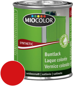 Synthetic Vernice colorata opaca Rosso vino 375 ml