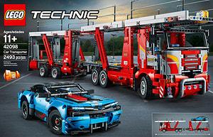 LEGO TECHNIC 42098 Le transport d'autos