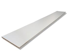 Panneau pour étagère blanc 16 mm