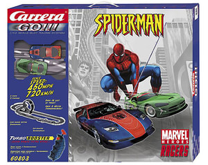 02/09 XL CARRERA GO Rennbahn Spiderman