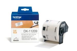 P-touch DK-11209 Adress-Etiketten (Klein) 800Stk./Rolle 29x62mm