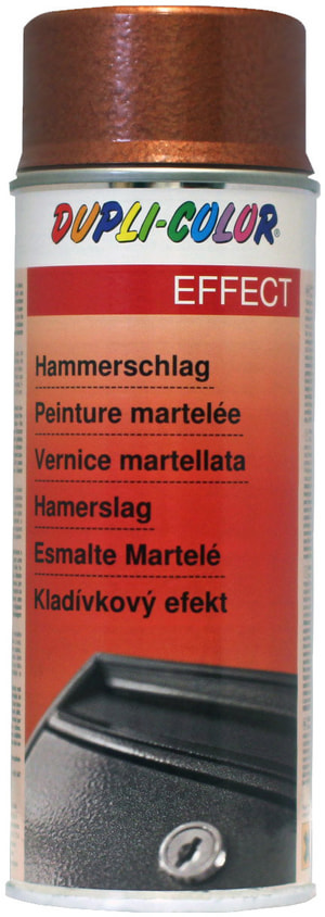 DUPLI-COLOR Effect Hammerschlag Spray Gold 400ml