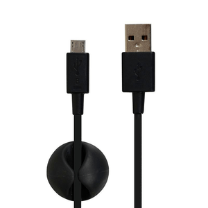 PORT Charge & Sync micro USB Kabel 1.2m schwarz