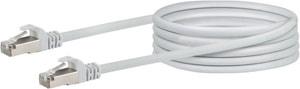 Netzwerkkabel S/FTP Cat. 6 5m weiss