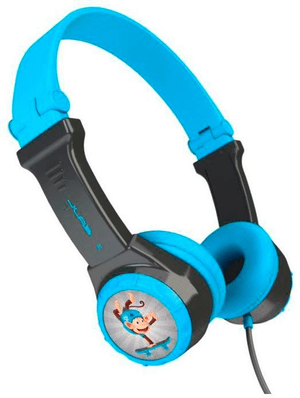 JBuddies Folding Kids Headphones - bleu