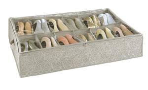 Range-chaussures dessous de lit Balan