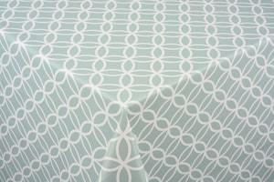 Couverture de table Circle mint ø 140 cm