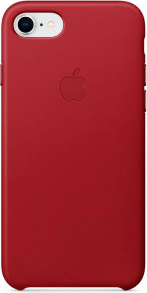 iPhone 8/7 Leather Case Red