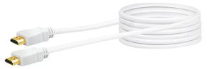 Kabel HDMI Highspeed 3m weiss