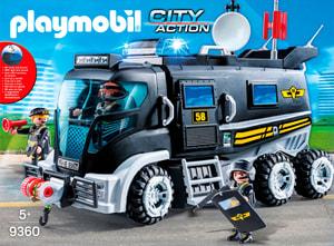 Playmobil Camion con luce e suono 9360