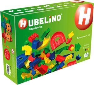 Hubelino piste de balle : Set de circuit à billes [128 pièces]