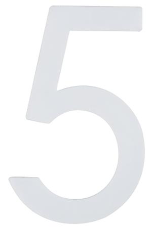 Hausnummer  Nachtleuchtend 5