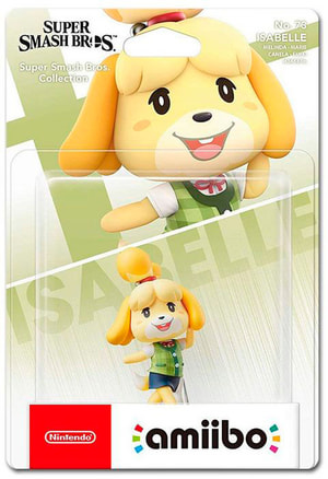 amiibo Super Smash Bros. Character - Isabelle