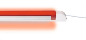 LED Lampe rot 200 mm