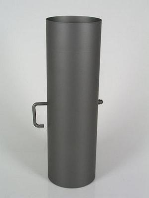 Tuyaux de fumée 50 cm, volet de tirage