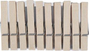 Molletta di legno FSC® 10p.