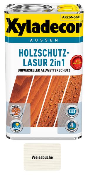 Lasure pour la protection du bois Bleu clair 750 ml