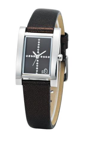 s.Oliver STARLET braun Armbanduhr