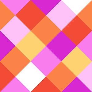 Atelier Serviette, 20 Stk. 33x33 cm, Winkel pink