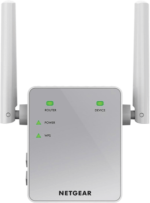 EX3700-100PES AC750 Universal WLAN Repeater blanc/argent