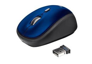 Yvi Wireless souris bleu