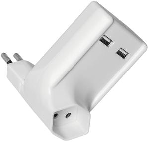 Zwischenstecker 2 x USB