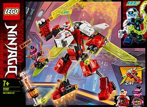 LEGO Ninjago 71707 L'avion-robot de