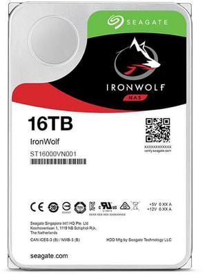 """IronWolf SATA 3.5"""" 16 TB"""