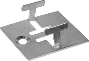 Compositdiele Metallclip 25 Stk.