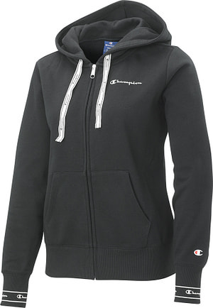 Hooded Half Zip Sweatshirt