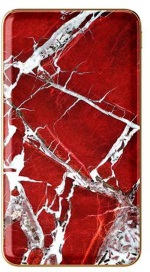 """Designer-Powerbank 5.0Ah """"Scarlet Red Marble"""""""