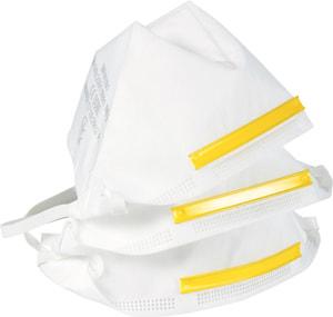 Atemschutzmaske, ohne Ventil, 3 Stück
