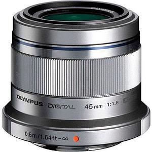 M.Zuiko DIGITAL 45mm f/1.8 Objectif argent