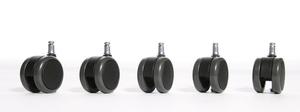 Set di rotelle per parquet 11mm
