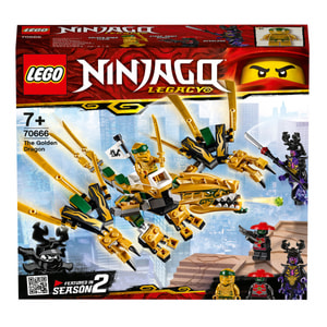 LEGO Ninjago 70666 Le dragon d'or