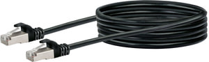 Netzwerkkabel S/FTP Cat. 6 2.5m schwarz
