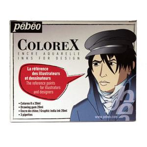 Colorex Etui 8x l + 2 aux.