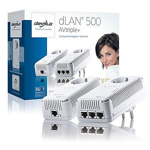 dLAN 500 AV triple+ Adapter Starter Kit