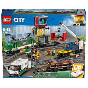 Lego City Le train de marchandises télécommandé 60198