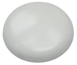 Rosace de plafond blanc Ø 95mm