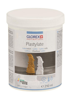 Plastylate latex