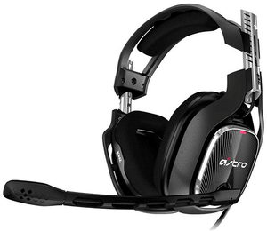 Gaming A40 TR Headset schwarz/rot